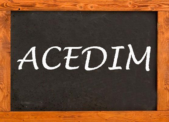 ACEDIM promociona los valores de la Organización y a sus centros asociados en la prensa