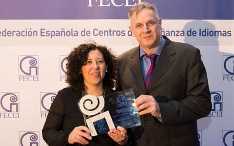 El departamento de Marketing de International House Madrid galardonado con el Premio TOP FECEI a la Responsabilidad Social