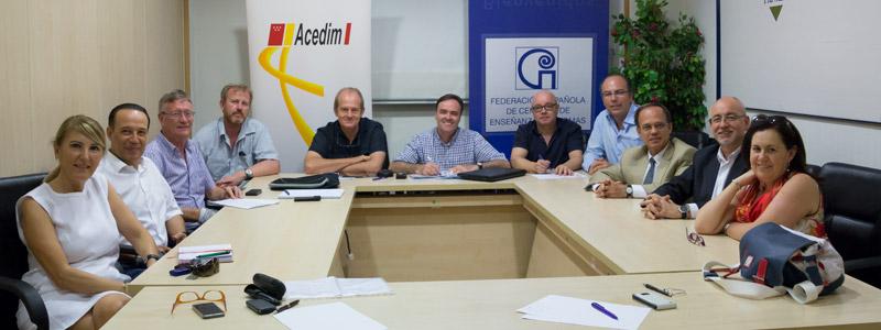 La presidenta de ACEDIM asistió al Comité Ejecutivo de FECEI que tuvo lugar el 4 de octubre en Madrid