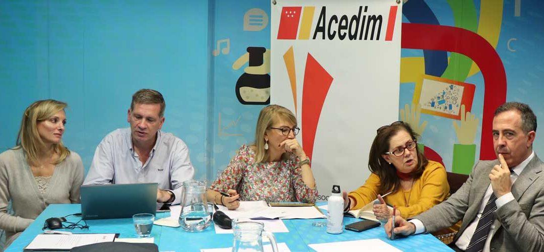 ACEDIM analiza el nuevo escenario de la enseñanza de idiomas en la comunidad de Madrid en un encuentro con sus asociados
